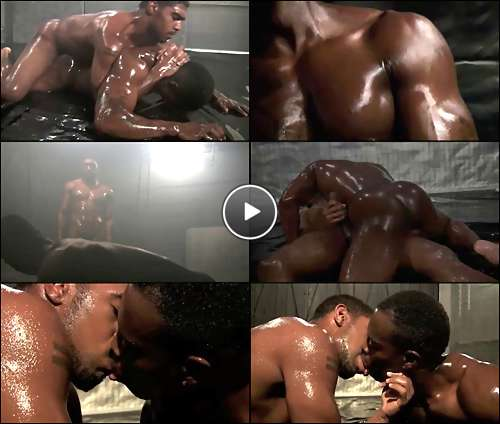 black men gay wrestling video